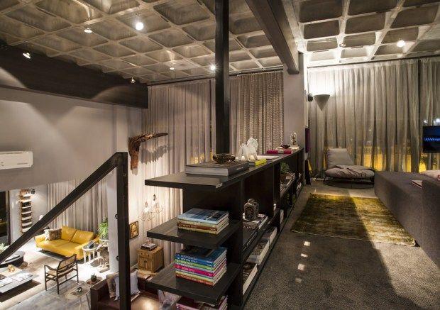 Casas de design industrial barra de ferro e armario de ferro