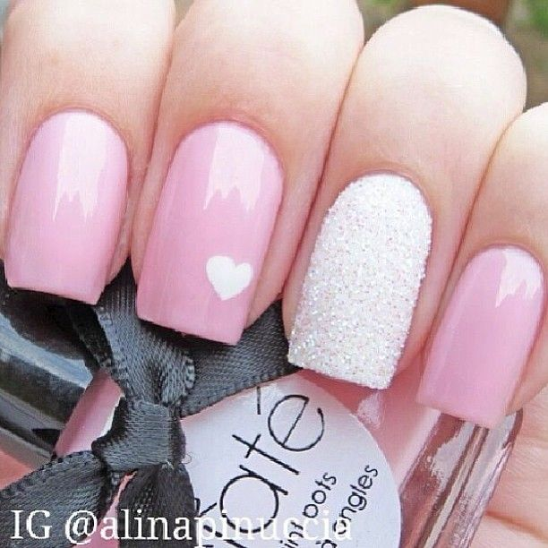 Photo by iiNailsArt(iinailsart): Love so simple