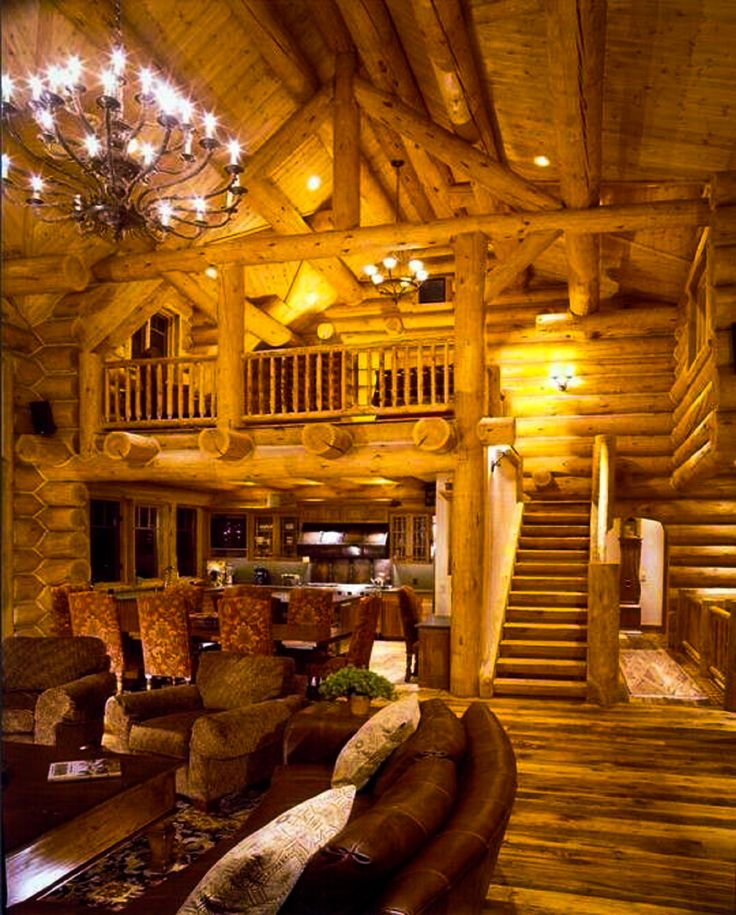 25 Best Images About Log Homes & Cabins On Pinterest