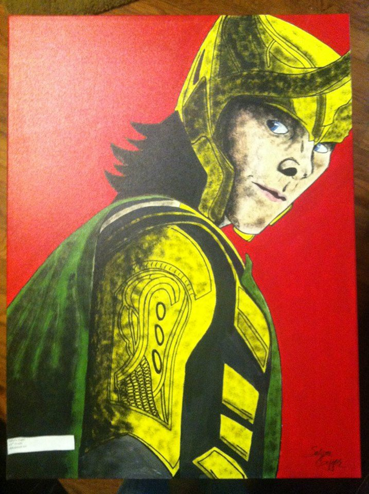 Canvas Painting- Loki-