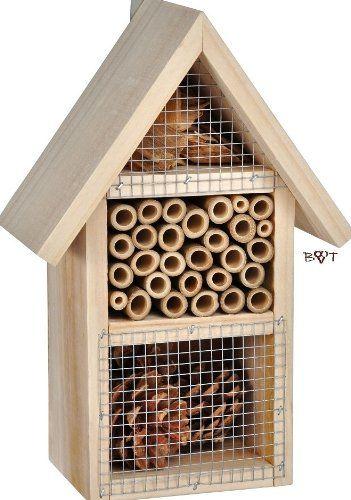 die besten 25 insektenhotel kaufen ideen auf pinterest moderne vogelh user fertigholzhaus. Black Bedroom Furniture Sets. Home Design Ideas