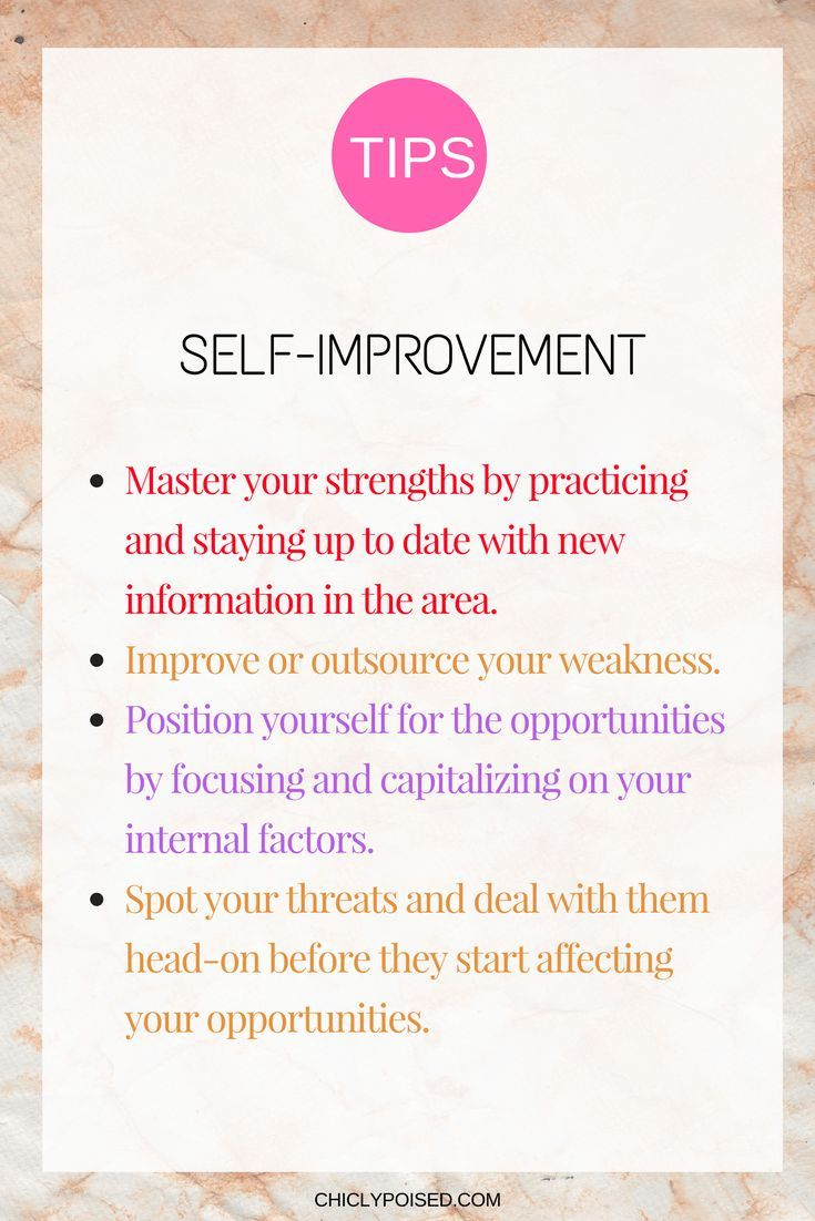 Self Improvement Guide Using Personal Swot Analysis Chiclypoised Self Improvement Swot Analysis Analysis Quotes