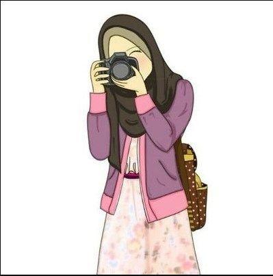 58+ Gambar Kartun Muslim Dan Cantik HD Terbaik