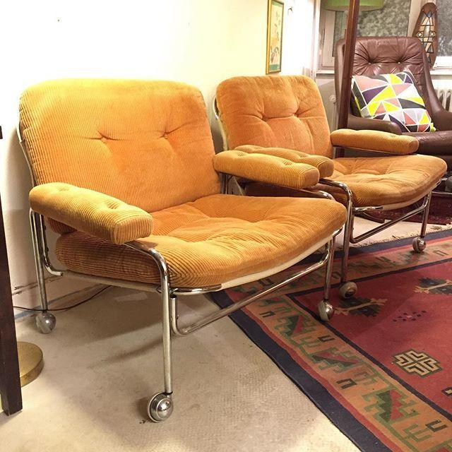 Bildresultat för klassiska fåtöljer manchester gul 70 talet