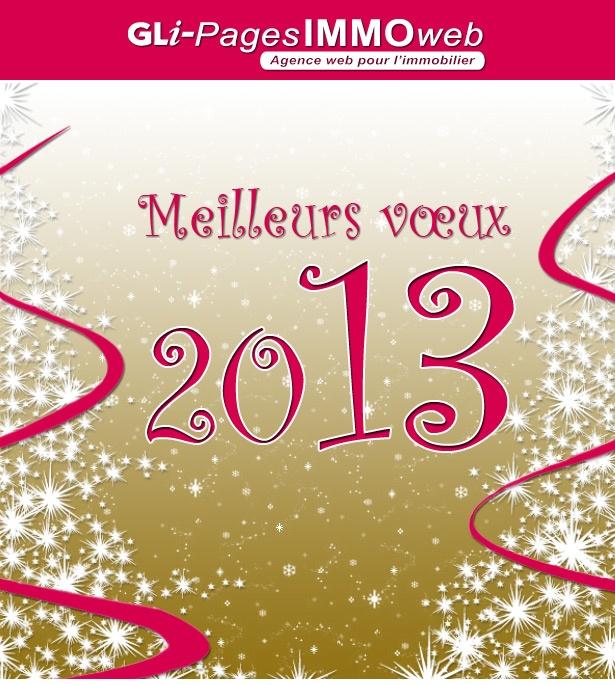 Meilleurs vœux pour 2013.