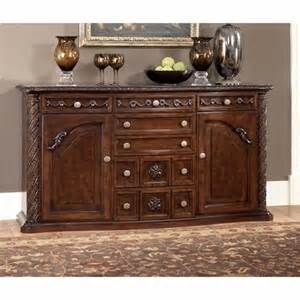1000 images about buffets cabinets hutches curios on - Ashley furniture pheasant run bedroom set ...