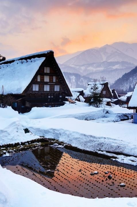 Japan - Shirakawago in Winter
