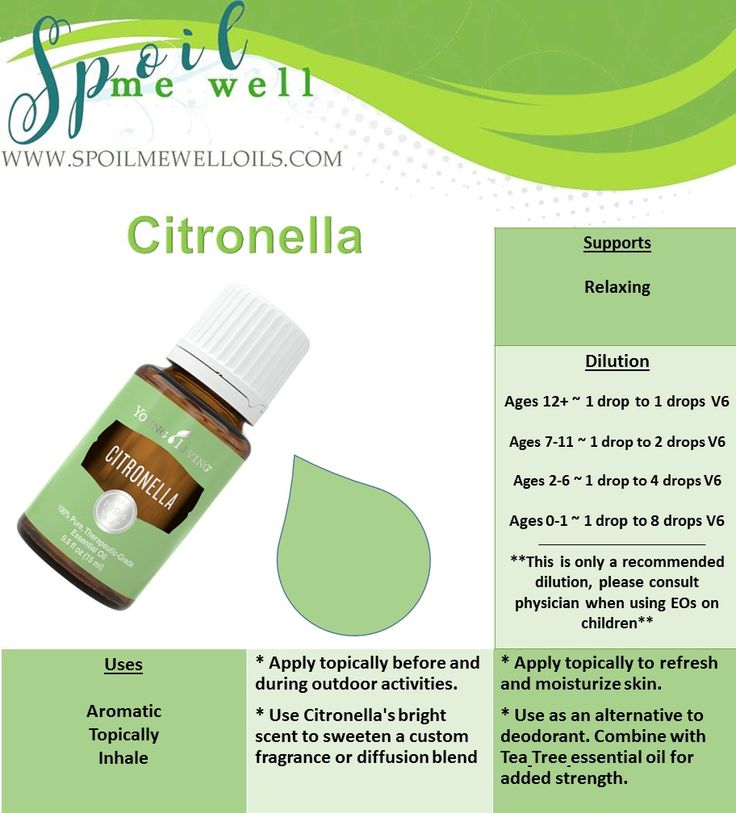 Citronella Essential Oil, Young Living Essential Oils, dilution ratios, all natural living