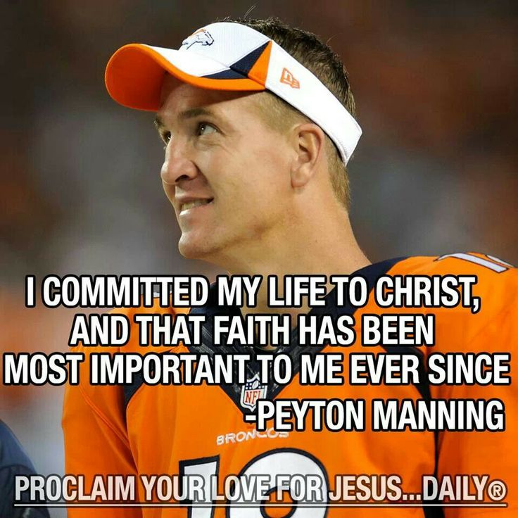 Famous Peyton Manning Quotes