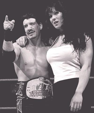 Eddie Guerrero & his mamacita Chyna
