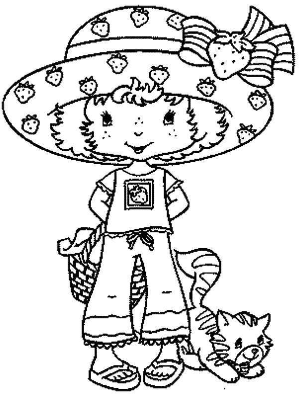 strawberry shortcake coloring pages coloring pages ideas strawberry shortcakecoloring book - Strawberry Shortcake Coloring Book
