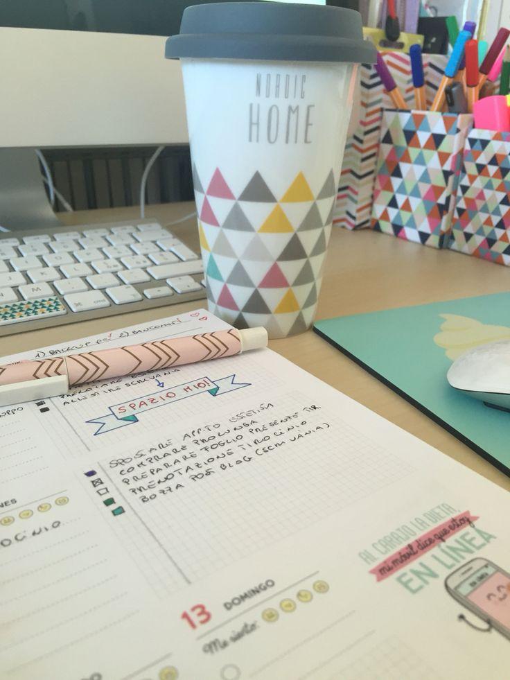 #bulletjournal & milk #organizzazione #planner #mrwonderful