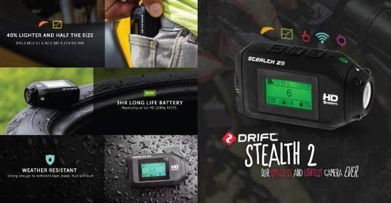 Conozcan solo algunas de las increíbles características de la #cámara más pequeña y liviana del mercado!  Más información de la #DriftStealth2 en http://bit.ly/DriftStealth2