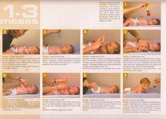 Las capacidades de un bebé van más allá de dormir y comer y hoy os traemos una guía muy útil de actividades para ellos, distribuida por Johnson and Johnson, basada en las técnicas de psicomotricidad, desarrolladas por el Dr. J. Koch. Estas técnicas de ejercitación son de gran importancia durante los dos primeros años de …