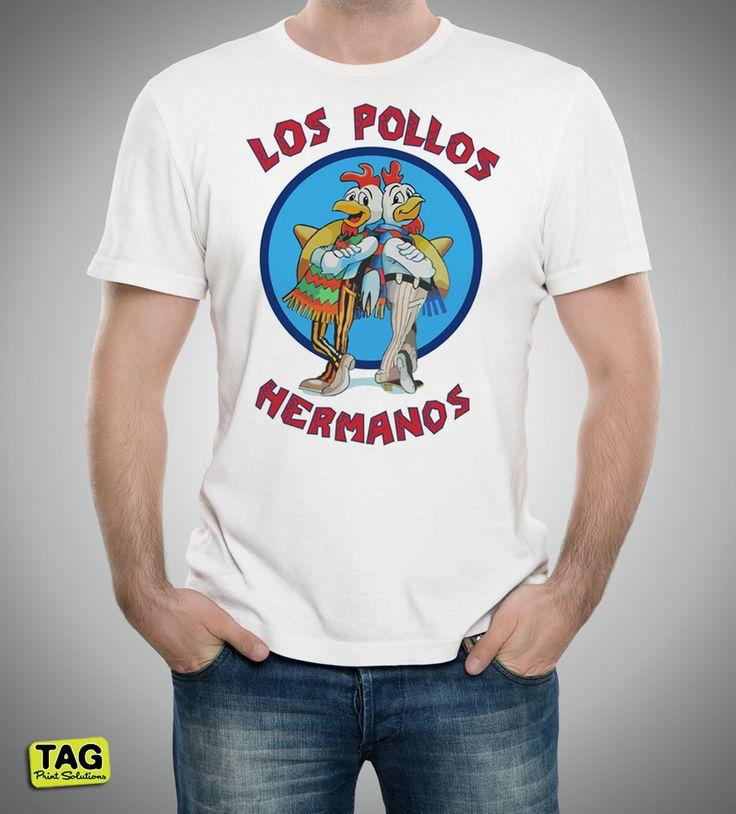 T-shirt Breaking Bad - Los Pollos Hermanos - Heisenberg - Pinkman - best Series | eBay