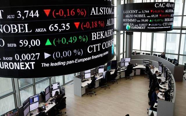 تراجع الأسهم الأوروبية خلال التعاملات مع تجدد النزاعات التجارية مباشر تراجعت مؤشرات الأسهم الأوروبية وسط Stock Market Stock Exchange Bse Sensex