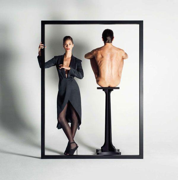 Campaign | Christy Turlington for YSL Fall 2009 by Inez & Vinoodh