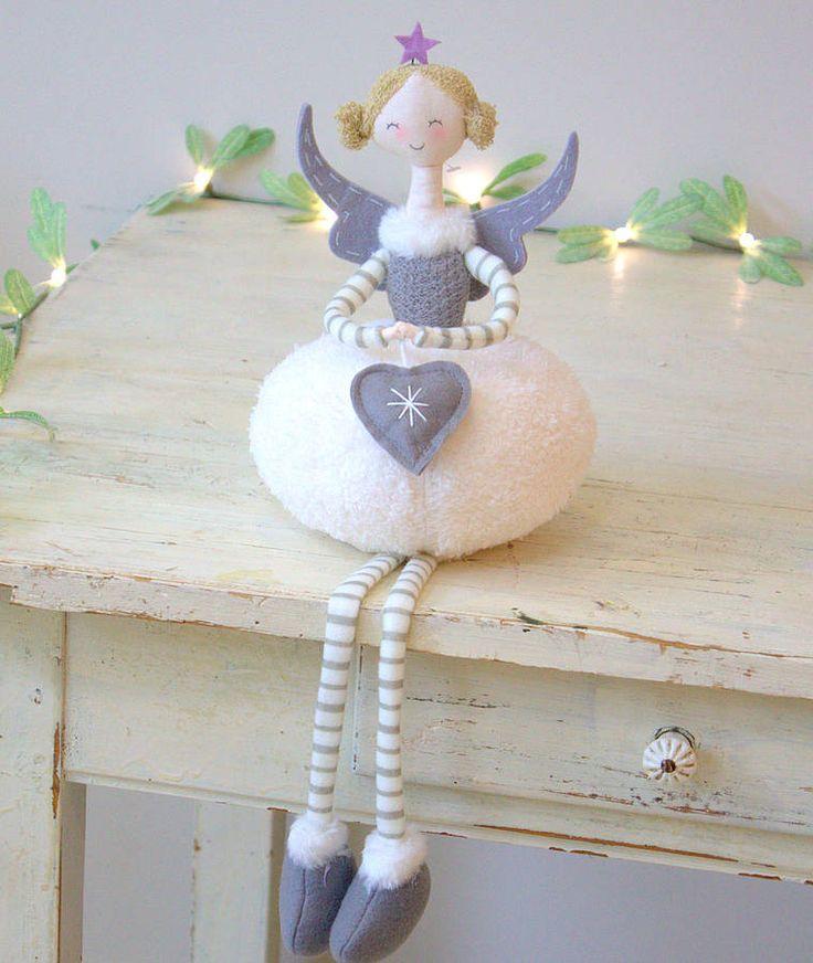 guardian angel decoration by little ella james   notonthehighstreet.com