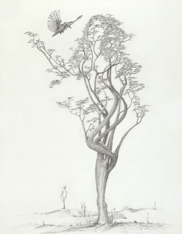 Tree Dancer in Flight by Mark Johnson www.markfineart.ca NEED THIS IN MY ROOM!!!