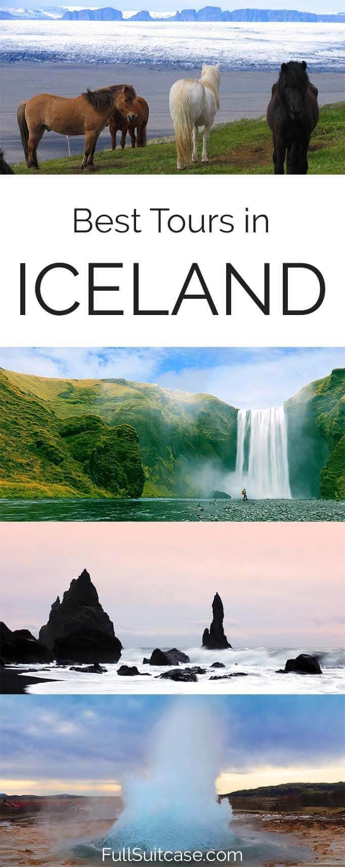Best guided tours and day trips in Iceland for any season #iceland