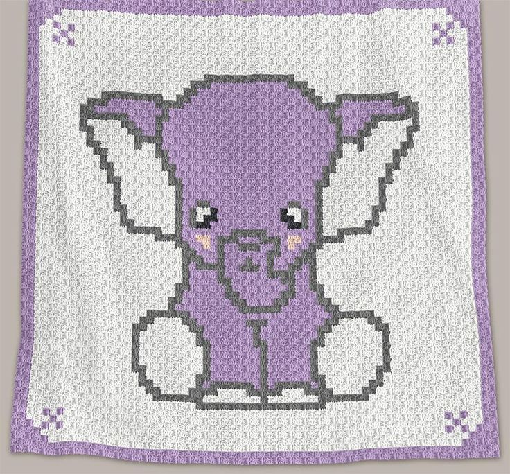 This pattern is for C2C crochet blanket. It is available for instant download as a PDF file. It includes: • FULL ROW-BY-ROW instructions that are written in both British and American crochet terms. • Blanket body COLOUR CHART that is spread over two A4 pages to make it large enough to follow easily.