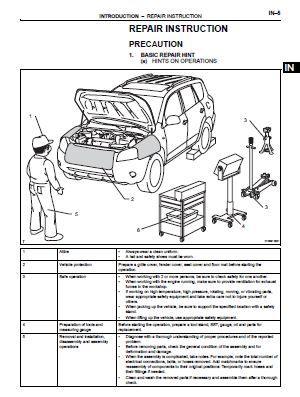 rav4 repair manual free