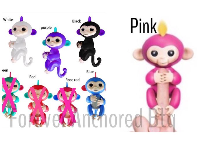 Interactive Finger Monkey  LAST order before Christmas!!! These are in HIGH demand so invoices must be paid within 1 hr of receiving and we don't hold items. Available in Blue Purple Pink White & Black (swipe to see options). $35 & free shipping. Vendors are jacking the prices up everyday due to high demand so I'm not taking orders past tomorrow  Monday 11/13 at midnight cst. To order: comment email without the .com & color. These will ship to me in 1-2 weeks. They will then ship to you. So…