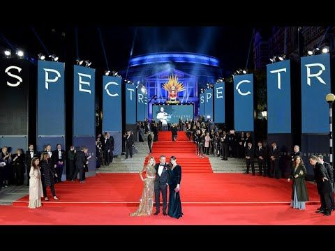 Daniel Craig Monica Bellucci and Léa Seydoux at Spectre premiere After months of gruelling film shoots injuries and interviews it was finally time to show off new 007 movie Spectre to the world on Monday night.