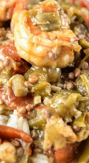 Crock Pot Seafood Gumbo
