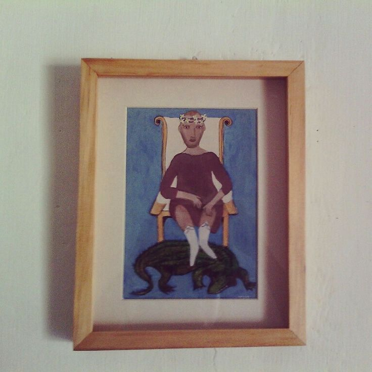 King of Corco , acrylic on paper , for adopt nurifynurify@gmail.com