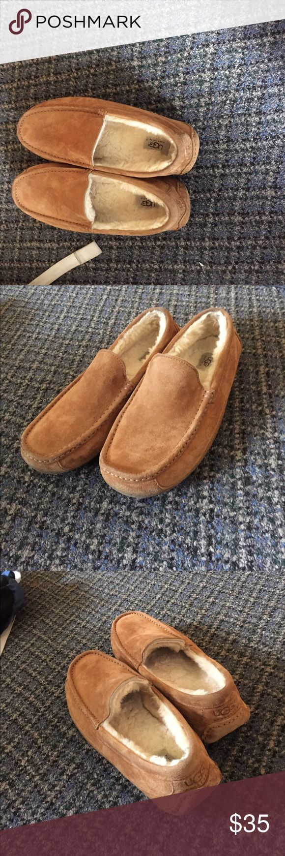 Ugg Men's Ascot Great slipper, selling cause slightly small on me UGG Shoes Loafers & Slip-Ons