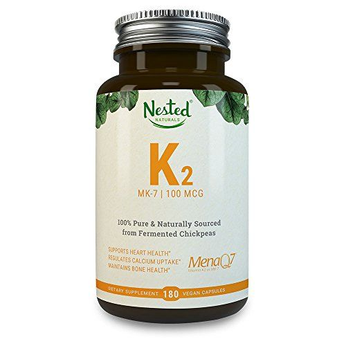 The Product Vitamin K2 MK-7 – Natural MenaQ7 from Fermented Chickpeas – Supports Healthy Bones, Heart, Arteries & More – 3rd Party Tested to Guarantee Quality – Vegan Capsules, 100% Pure, Non-GMO  Can Be Found At - http://vitamins-minerals-supplements.co.uk/product/vitamin-k2-mk-7-natural-menaq7-from-fermented-chickpeas-supports-healthy-bones-heart-arteries-more-3rd-party-tested-to-guarantee-quality-vegan-capsules-100-pure-non-gmo/