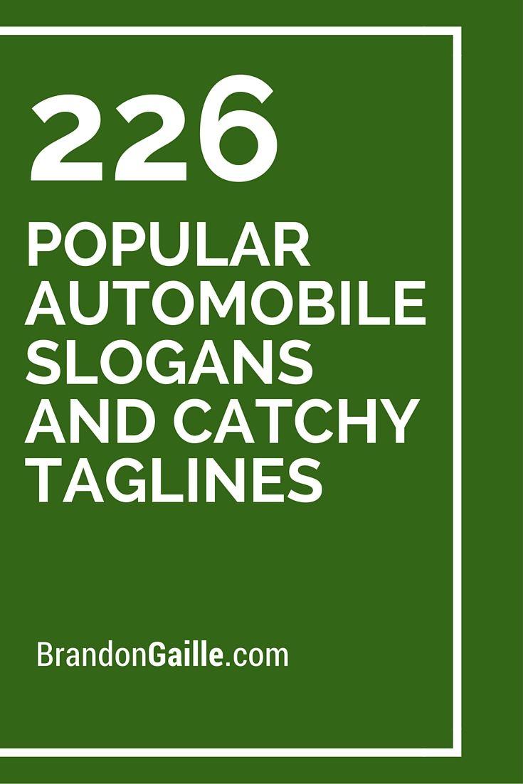 Car Sales Business Names