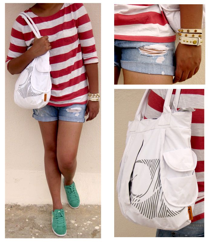 SHOULDER A SLIT FRONT BAG FOR THE SEXY, SPORTY LOOK. #FTBlog