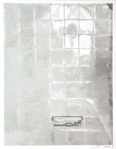 Luc Tuymans, Tiles, 2005, oil on canvas, 48.03 x 35.03 cm