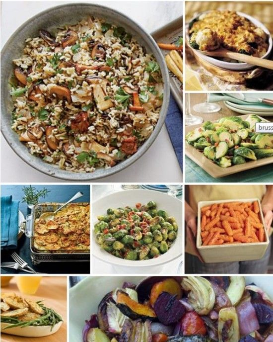 12 Thanksgiving Vegetable Side Dish Recipes
