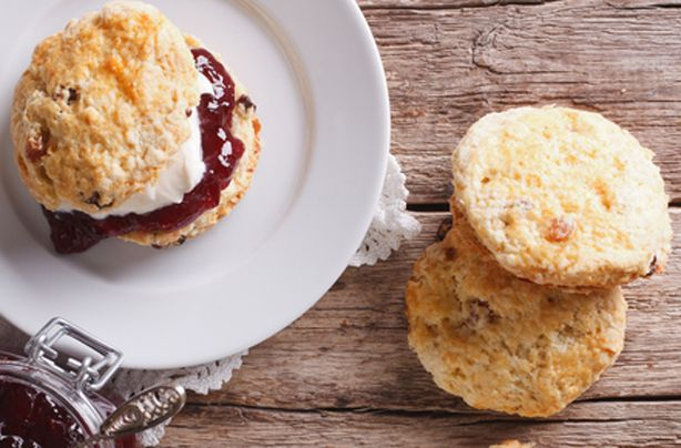 Great British Bake Off judge, Paul Hollywood's simple scone recipe will give you soft and fluffy scones. Serve with fresh cream and jam. This recipe makes 8 regular sized scones and will take only 40 mins to prepare and bake. This scone recipe is a classic British recipe that is ideal for beginners or those who have never made scones before as the recipe is so simple. Serve these soft buns with heaps of jam and cream and watch them disappear in minutes. Scone recipes are usually made with...