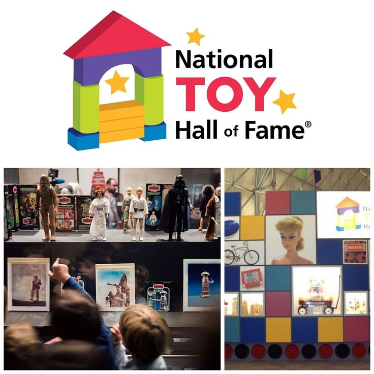 National Toy Hall of Fame in Rochester, New York / 19 Places That Will Make Your Kid's Dreams Come True (via BuzzFeed)