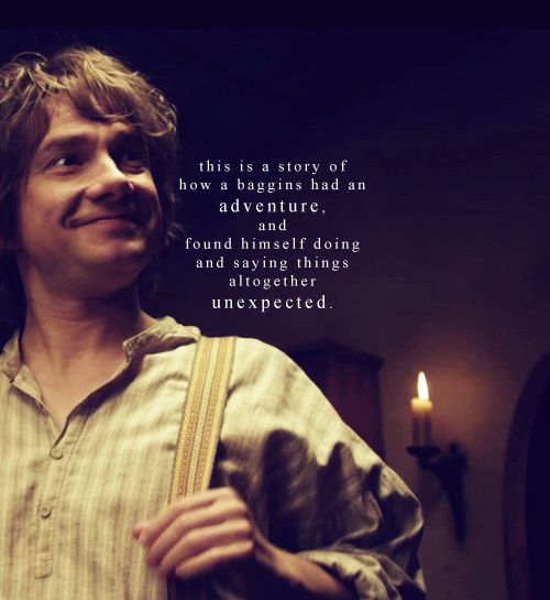 Bilbo Baggins Adventure Quotes. QuotesGram