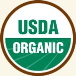 USDA Organic logo and information on organic farming. Now if the USDA would come up with a label for GMO foods.