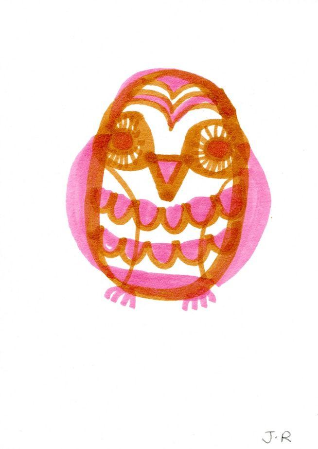 'Baby Owl' by Jane Reiseger