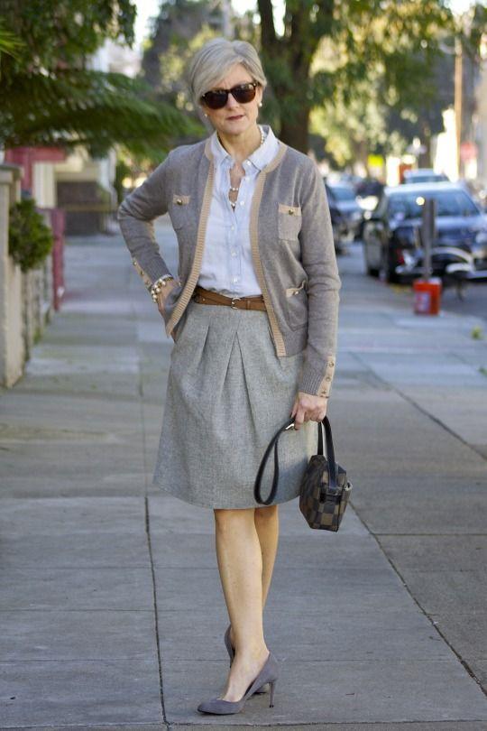Working Girl Style At A Certain Age Overfiftyblogger Mtf Pinterest Garderober Och