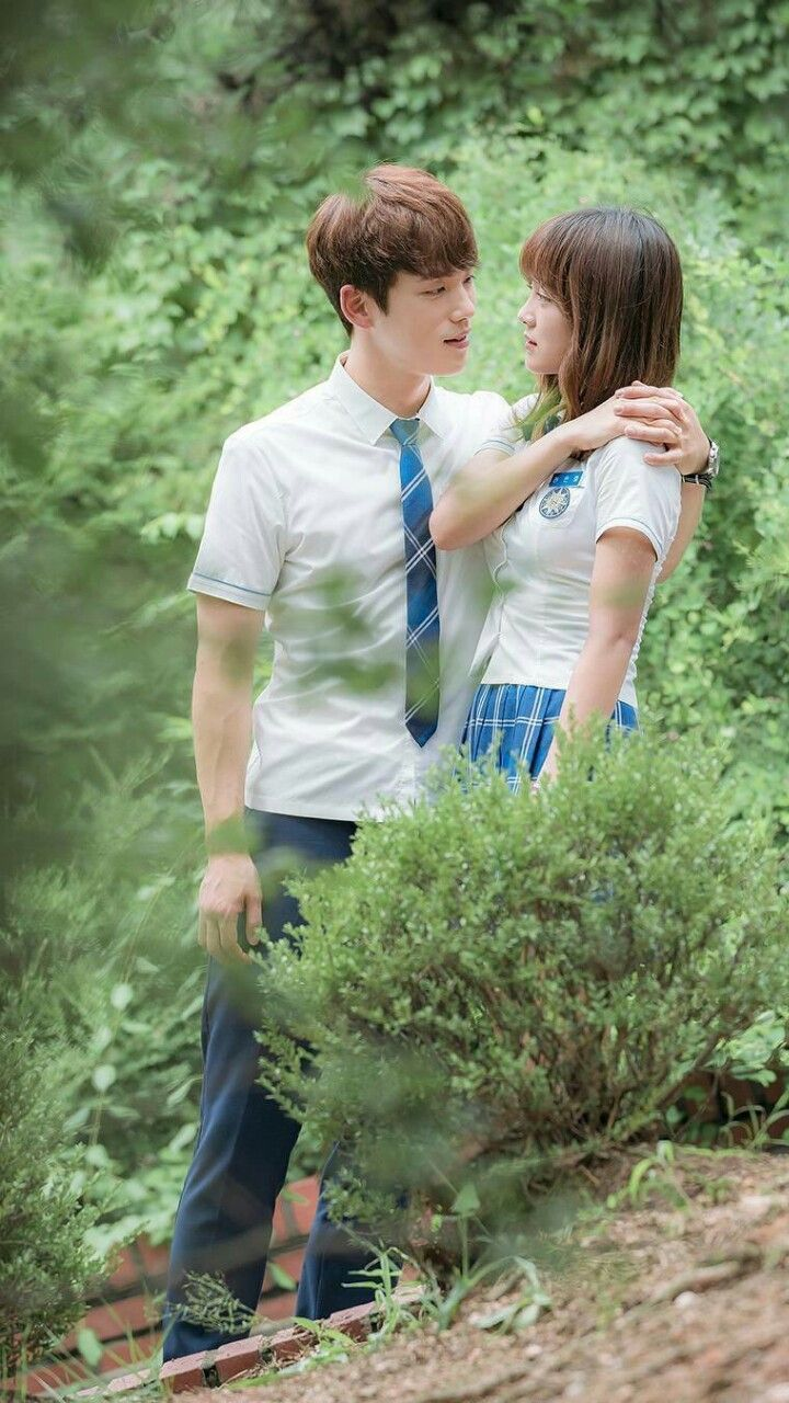 School 2017.  Feeling this couple.