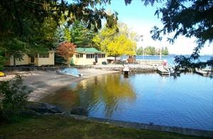 Camp Idlewood in Minnesota where my grandparents took us every summer