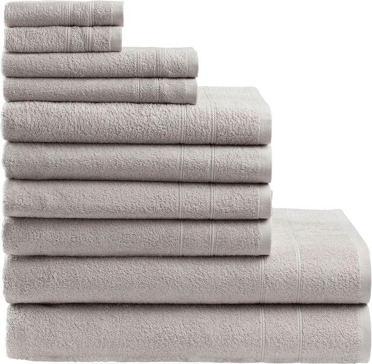 Handtuch Set, my home, »Inga«, mit feiner Bordüre  Afric