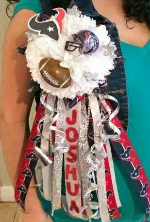 Texans Baby Shower mum