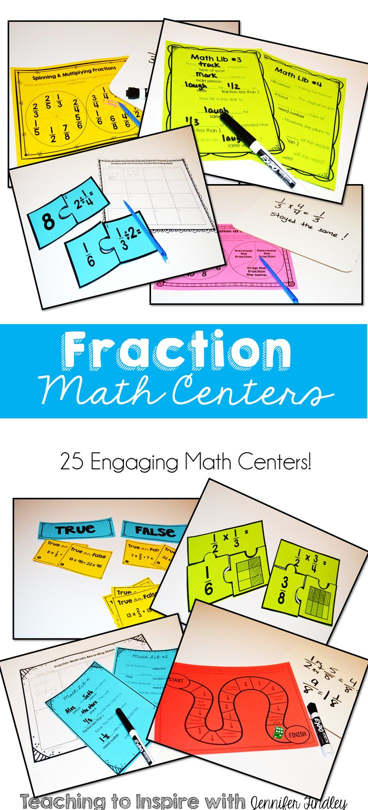 124 best Fractions images on Pinterest | School, Fractions and Learning