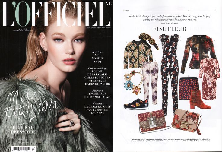 Scotch & Soda featured in L'Officiel NL | December 2014