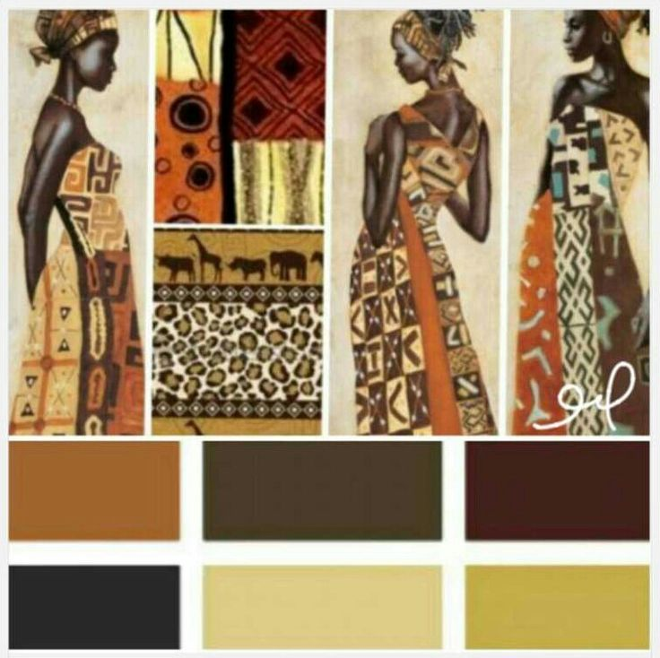 15 Best Images About African Colour Pallet Inspo On