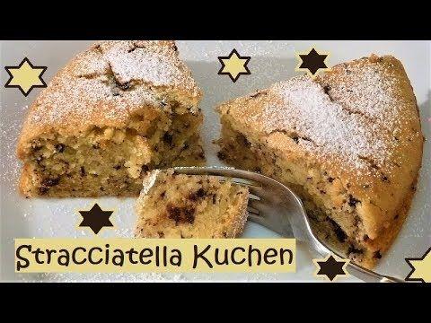 Stracciatella-Kuchen, mega weich und fluffig und ganz einfach! - YouTube